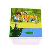 Lembrancinha Caixa Acrílica Personalizada Go Diego Go