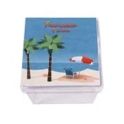 Lembrancinha Caixa Acrílica Personalizada Havaiana