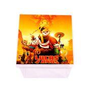 Lembrancinha Caixa Acrílica Personalizada Kung Fu Panda