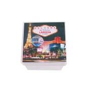 Lembrancinha Caixa Acrílica Personalizada Las Vegas