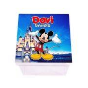 Lembrancinha Caixa Acrílica Personalizada Mickey