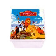 Lembrancinha Caixa Acrílica Personalizada Rei Leão
