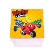 Lembrancinha Caixa Acrílica Personalizada Ricky Zoom