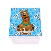 Lembrancinha Caixa Acrílica Personalizada Scooby Doo
