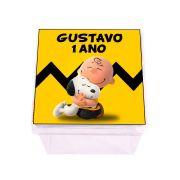 Lembrancinha Caixa Acrílica Personalizada Snoopy