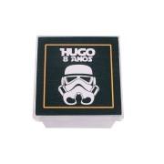 Lembrancinha Caixa Acrílica Personalizada Star Wars