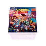 Lembrancinha Caixa Acrílica Personalizada Toy Story 4