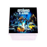 Lembrancinha Caixa Acrílica Personalizada Transformers