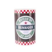 Lembrancinha Cofrinho Personalizado Boteco Estilo Heineken