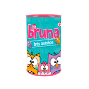 Lembrancinha Cofrinho Personalizado Bubu e as Corujinhas
