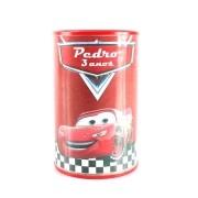 Lembrancinha Cofrinho Personalizado Carros Disney