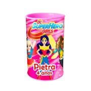 Lembrancinha Cofrinho Personalizado DC Super Hero Girls