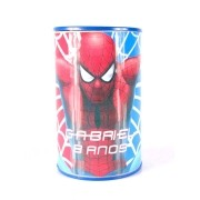 Lembrancinha Cofrinho Personalizado Homem Aranha