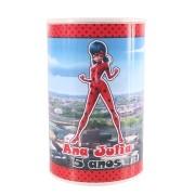 Lembrancinha Cofrinho Personalizado Lady Bug Miraculous