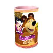 Lembrancinha Cofrinho Personalizado Masha e o Urso