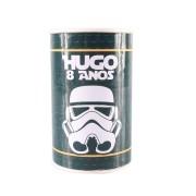 Lembrancinha Cofrinho Personalizado Star Wars