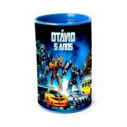 Lembrancinha Cofrinho Personalizado Transformers