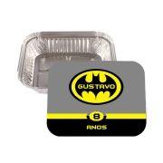 Lembrancinha Marmitinha Personalizada Batman