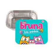 Lembrancinha Marmitinha Personalizada Bubu e as Corujinhas