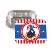 Lembrancinha Marmitinha Personalizada Capitão América