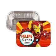Lembrancinha Marmitinha Personalizada Homem de Ferro