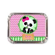 Lembrancinha Marmitinha Personalizada Panda Rosa