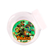 Lembrancinha Mini Baleiro Personalizado Tartarugas Ninja
