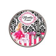 Lembrancinha Potinho De Alumínio Personalizado Barbie
