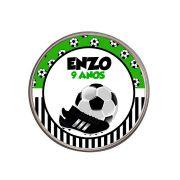 Lembrancinha Potinho De Alumínio Personalizado Futebol