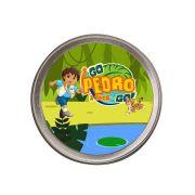 Lembrancinha Potinho De Alumínio Personalizado Go Diego Go