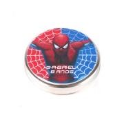 Lembrancinha Potinho De Alumínio Personalizado Homem Aranha