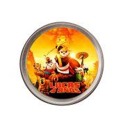 Lembrancinha Potinho De Alumínio Personalizado Kung Fu Panda