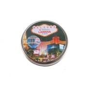 Lembrancinha Potinho De Alumínio Personalizado Las Vegas