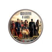 Lembrancinha Potinho De Alumínio Personalizado Liga da Justiça
