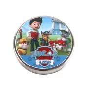 Lembrancinha Potinho De Alumínio Personalizado Patrulha Canina