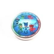Lembrancinha Potinho De Alumínio Personalizado PJ Masks