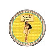 Lembrancinha Potinho De Alumínio Personalizado Pocahontas