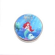 Lembrancinha Potinho De Alumínio Personalizado Princesa Ariel