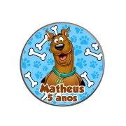 Lembrancinha Potinho De Alumínio Personalizado Scooby Doo