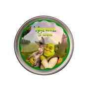 Lembrancinha Potinho De Alumínio Personalizado Shrek
