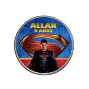 Lembrancinha Potinho De Alumínio Personalizado SuperMan