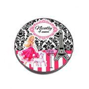 Lembrancinha Potinho Plástico Personalizado Barbie
