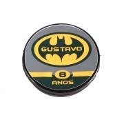 Lembrancinha Potinho Plástico Personalizado Batman