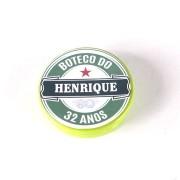 Lembrancinha Potinho Plástico Personalizado Boteco Estilo Heineken