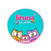 Lembrancinha Potinho Plástico Personalizado Bubu e as Corujinhas