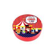 Lembrancinha Potinho Plástico Personalizado Circo
