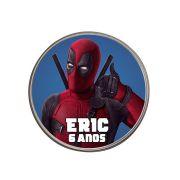 Lembrancinha Potinho Plástico Personalizado Deadpool