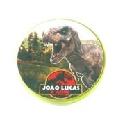Lembrancinha Potinho Plástico Personalizado Dinossauros Jurassic World