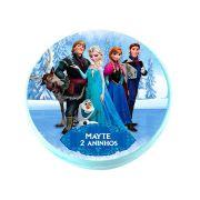 Lembrancinha Potinho Plástico Personalizado Frozen 2