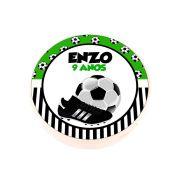 Lembrancinha Potinho Plástico Personalizado Futebol